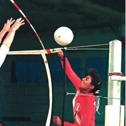 VOLLEYBALL ANTENAE WITH POCKETS 1,80 M 1 PAIR