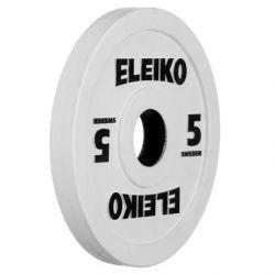 ELEIKO VARŽYBINIS/TRENIRUOČIŲ SUNKIOSIOS ATLETIKOS DISKAS 5 kg
