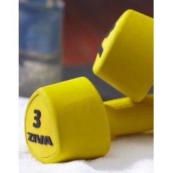 ZIVA TRIBELL STUDIO AEROBIKOS HANTELIAI 2x2 kg
