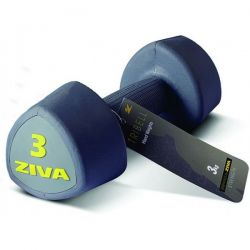 ZIVA TRIBELL STUDIO AEROBIC DUMBELLS 2x3 kg