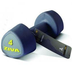 ZIVA TRIBELL STUDIO AEROBIC DUMBELLS 2x4 kg