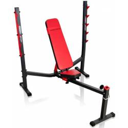 WEIGHT BENCH WITH POWER PRESS RACK MARBO SPORT MS-L106