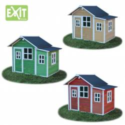 WOODEN PLAYHOUSE EXIT LOFT 150