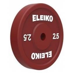 ОЛИМПИЙСКИЙ ТЕХНИЧЕСКИЙ ДИСК ДЛЯ ТЯЖЕЛОЙ АТЛЕТИКИ ELEIKO OLYMPIC WL 2,5 kg