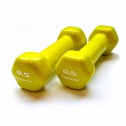 MIGHTY AEROBICS DUMBELLS 2 x 0,5 kg