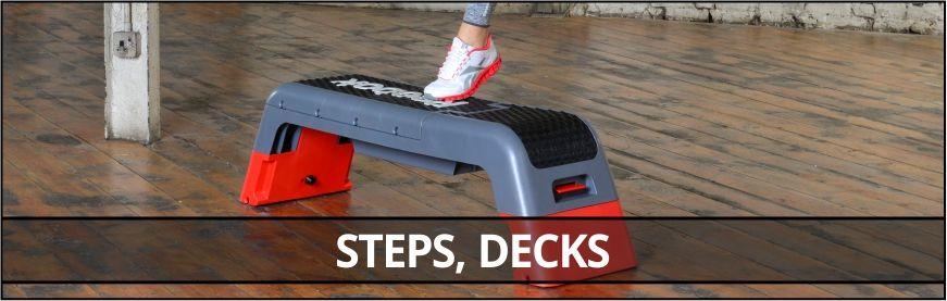 Steps, Decks