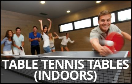 Table tennis tables (Indoors)