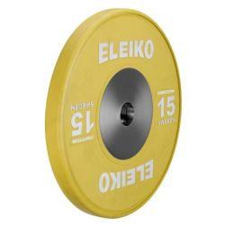 ELEIKO VARŽYBINIS SUNKIOSIOS ATLETIKOS DISKAS 15 kg