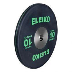 ELEIKO SUNKIOSIOS ATLETIKOS TRENIRUOČIŲ DISKAS 10 kg