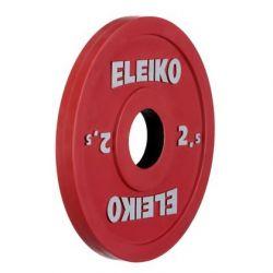 ELEIKO VARŽYBINIS/TRENIRUOČIŲ SUNKIOSIOS ATLETIKOS DISKAS 2,5 kg