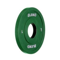 ELEIKO OLYMPIC WL COMPETITION/TRAINING DISC 1,0 kg
