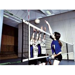 VOLLEYBALL TOURNAMENT NET MANFRED HUCK 3 MM 9,5 X 1 M
