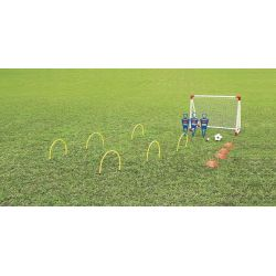 OUTDOOR PLAY BACKYARD SOCCER SET