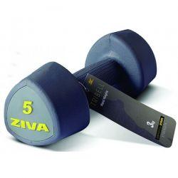 ZIVA TRIBELL STUDIO AEROBIC DUMBELLS 2x5 kg
