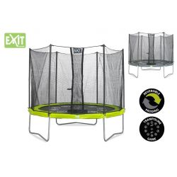 TRAMPOLINE WITH SAFETY NET EXIT TWIST 305 cm