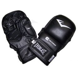 EVERLAST MMA LEATHER STRIKING TRAINING GLOVES