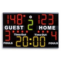 PORTABLE MULTISPORT SCOREBOARD FAVERO PS-M