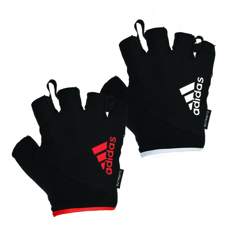 Dam Weight Lifting Gym Gloves Body Building Workout White: TRAINING GLOVES ADIDAS ESSENTIAL