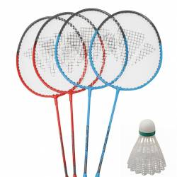 CARLTON BADMINTON SET FOR 4 PLAYERS