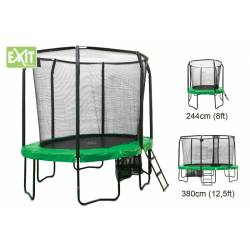 TRAMPOLINE EXIT ALL-IN-1 JumpArenA Oval 244x380 cm