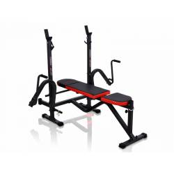 WEIGHT BENCH WITH BARBELL STAND MARBO SPORT MH-L107