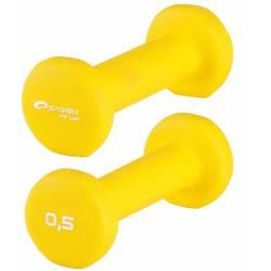AEROBICS FOAM DUMBELLS INSPORTLINE 2 x 0,5 kg