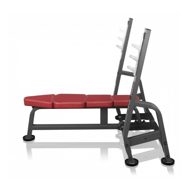 Professional Weight Bench With Barbell Stand Marbo Sport Mp L204 Vs Sport