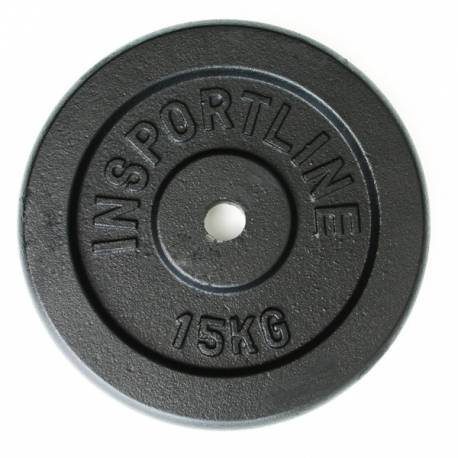 STEEL WEIGHT PLATES INSPORTLINE 20kg