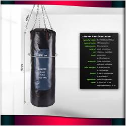 CLASSIC HEAVY BOXING BAG MARBO SPORT 100 / 35 cm