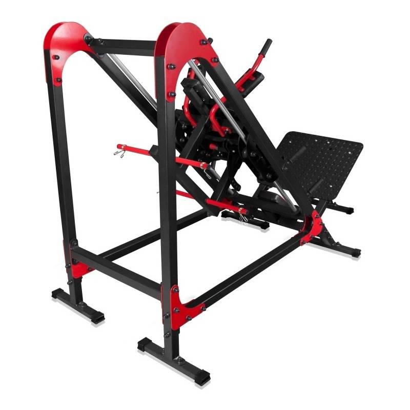 Free Weights Vs Machines: LEG PRESS MARBO SPORT MS-U106