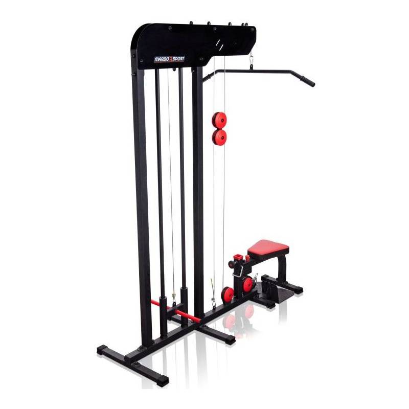 Free Weights Vs Machines: LAT PULLDOWN TRAINER MARBO SPORT MS-W101