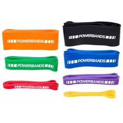 7 DIFFICULTY LEVELS POWERMARK POWER BANDS SET