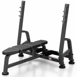 PROFESSIONAL WEIGHT BENCH WITH BARBELL STAND MARBO SPORT MP-L204