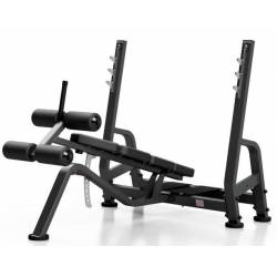 PROFESSIONAL WEIGHT BENCH WITH BARBELL STAND MARBO SPORT MP-L208
