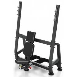 PROFESSIONAL WEIGHT BENCH WITH BARBELL STAND MARBO SPORT MP-L209