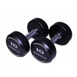 VS-FITNESS GUMUOTŲ HANTELIŲ KOMPLEKTAS 2 x 12-50 kg