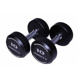 VS-FITNESS RUBBERED DUMBELL SET 2 x 12-50 kg