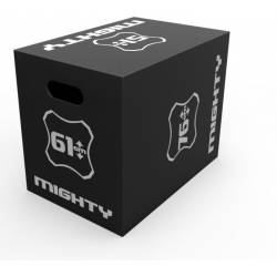 WOODEN PLYO BOX MIGHTY 3 IN 1