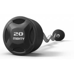 MIGHTY FIXED WEIGHT BARBELL WITH CURL BARS 10-45 KG