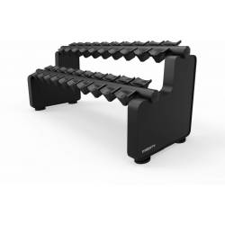 MIGHTY DUMBBELL RACK 10 PAIR 2 TIER