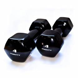 MIGHTY AEROBICS DUMBELLS 2 x 4 kg