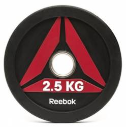REEBOK BUMPER PLATE 2.5 kg