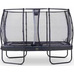 TRAMPOLINE EXIT ELEGANT PREMIUM WITH SAFETY NET DELUXE 214x366 cm