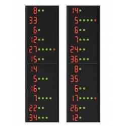 FAVERO FC12A1 STATISTICS SIDE PANELS FOR SCOREBOARDS