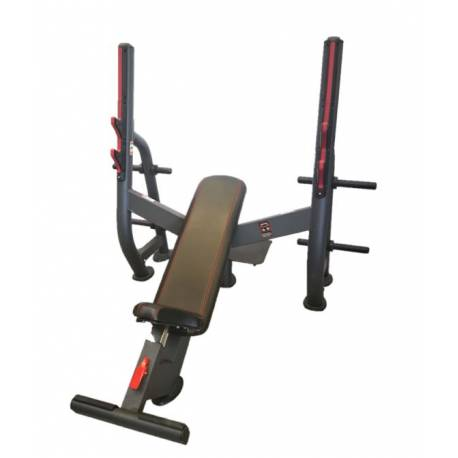 WEIGHT BENCH WITH POWER PRESS RACK VS-FITNESS