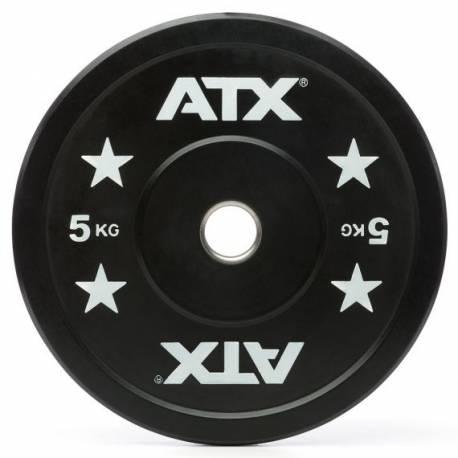GUMUOTI TRENIRUOČIŲ DISKAI TINKAMI MĖTYMUI ATX 2 x 10 kg