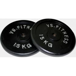 VS-FITNESS STEEL WEIGHT PLATES 2 x 20 kg