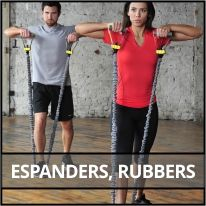Espanders, rubbers