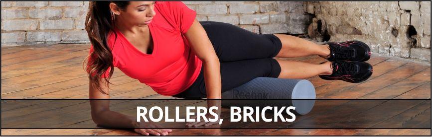 Rollers, bricks
