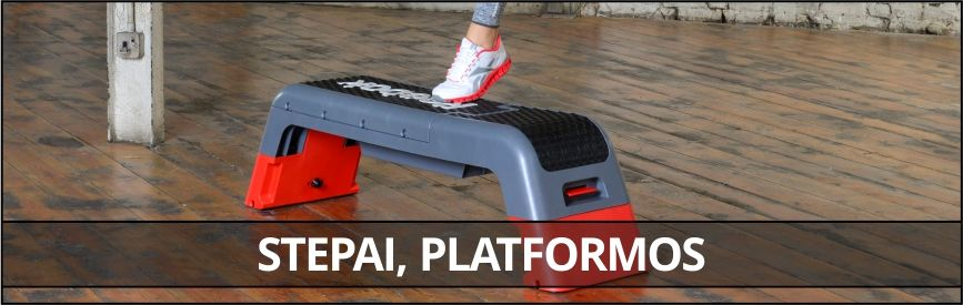 Stepai, platformos